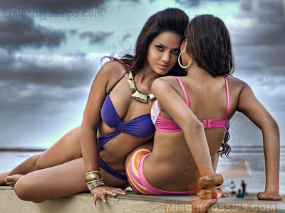 Neetu chandra Man magazine hot Pictures in Bikini