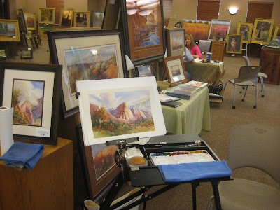 Roland Lee art exibit at the 2009 New Visions Art Exhibit held at the Santa Clara Town Hall