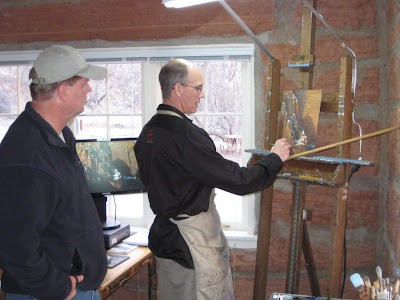 Dennis Farris is the Zion National Park artist in Residence during February 2010