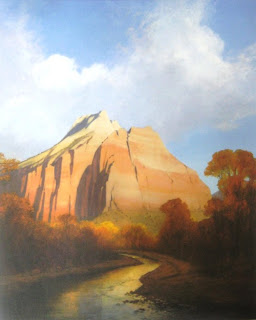 Cathedral Mountain by artist Jim Jones