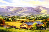 picture of Howgill Fells Cumbria Yorkshire Dales
