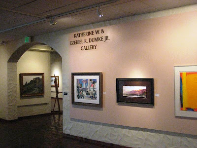 Roland Lee painting on exhibit at the Springville Museum of Art