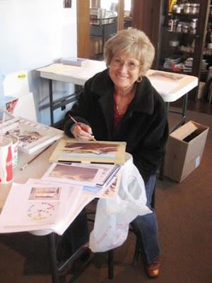 Artist Gayla Folkman