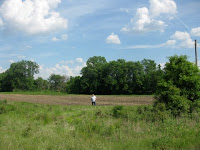 Oliver Walker homesite in section 1 Caldwell County Missouri