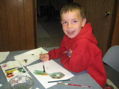 Kayson painting