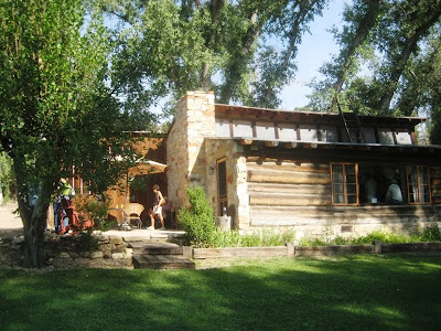 The historic studio on the grounds of the Maynard Dixon Home and property in Utah