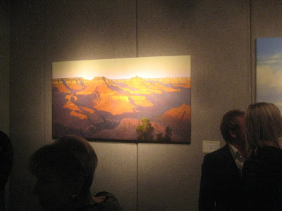 Jim Jones painting of Grand Canyon on exhibit at SUU