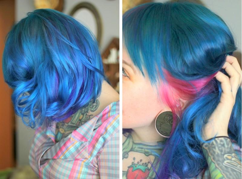 Порно с девушками необычных цветов волос 7