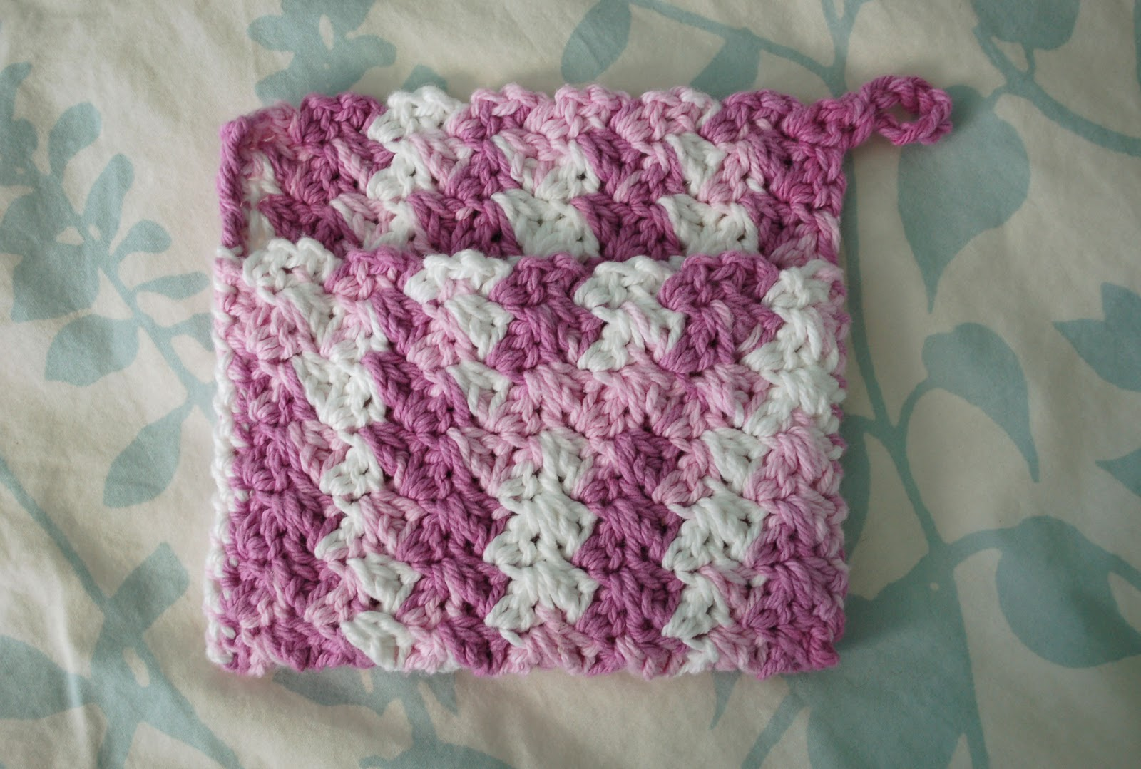 Easy crochet potholder tutorial dancox for potholder patterns free patterns gallery easy crochet dt1010fo