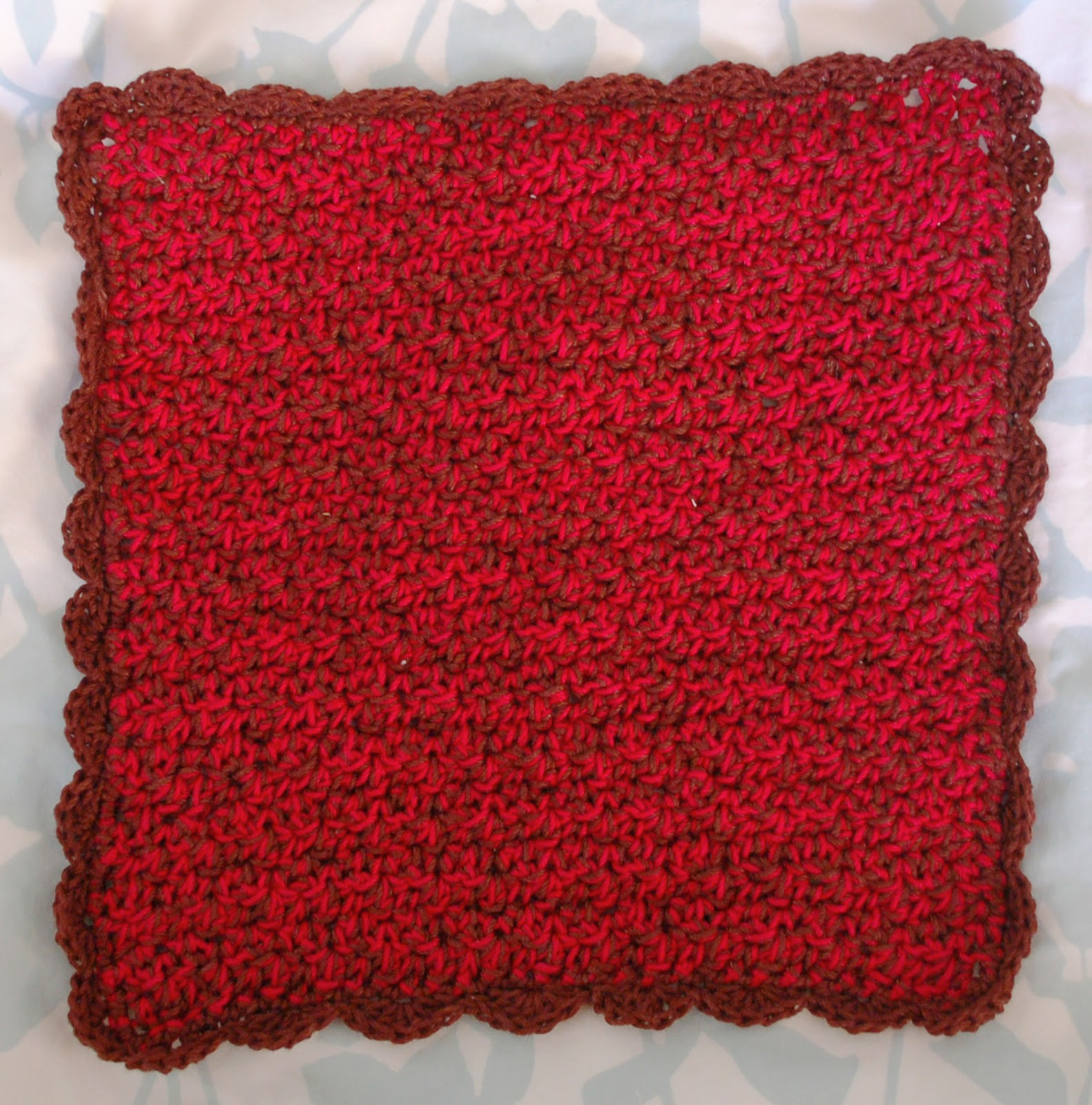 Free Crochet Patterns Using Size 3 Thread : Alli Crafts: Free Pattern: Washcloth or Dishcloth-Size 3 ...