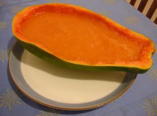 Everyday Vegan: Papaya Lime Soup