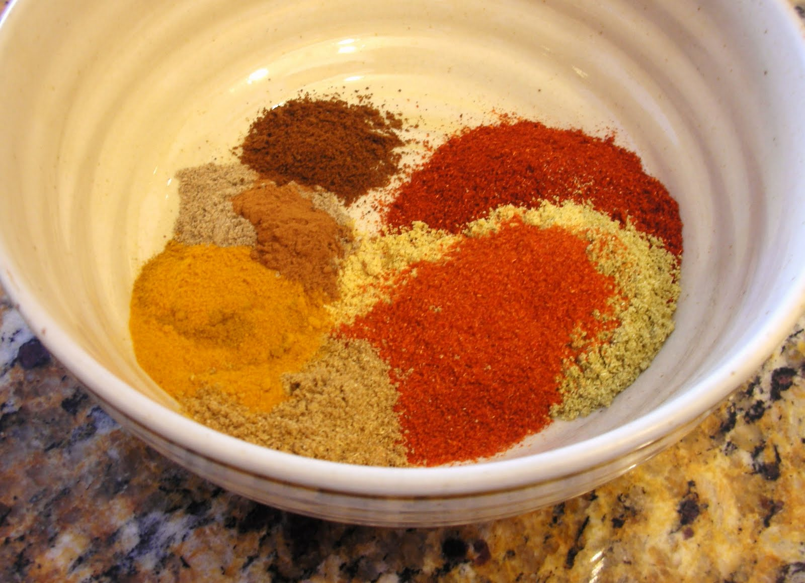 everyday vegan homemade curry powder