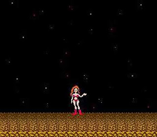 Sexy Video Game Girls Metroid_NES_Ending_5