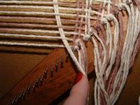 weave your loop down