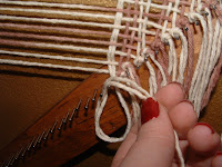 loop the fringe around