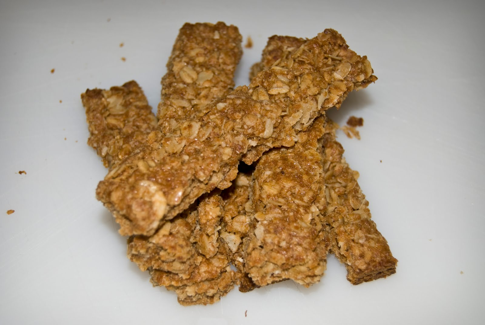 Crunchy Granola Bars Recipe — Dishmaps