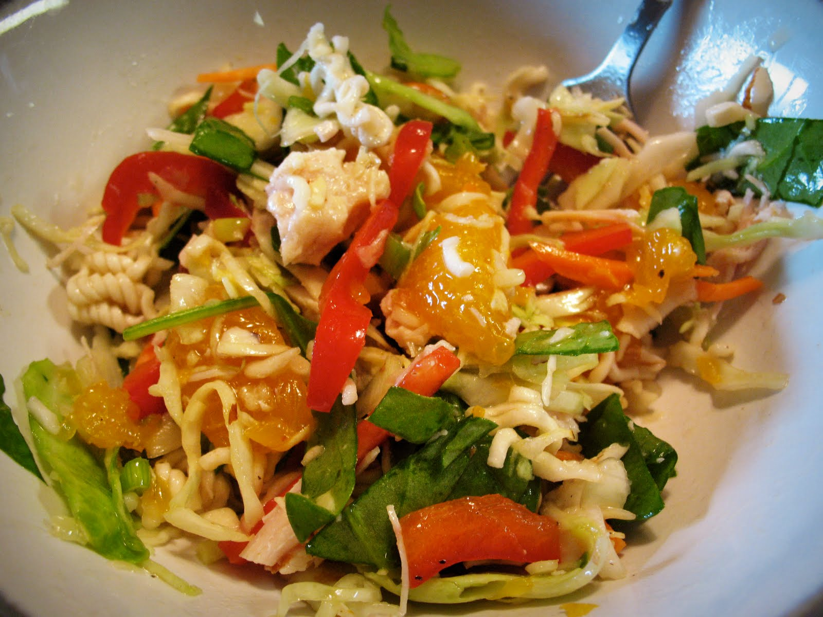 Crunchy Asian Salad Recipe — Dishmaps