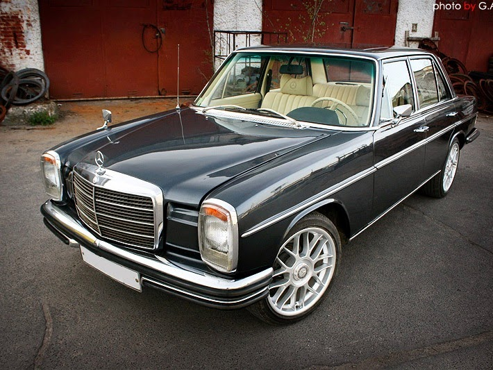 Mercedes benz w115 on bbs wheels benztuning for Mercedes benz racing parts
