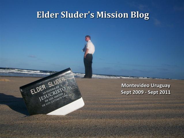 Elder Sluder's Mission Blog