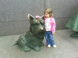 Sophia at the FDR Memorial, Spring 2007