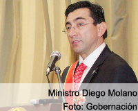 Ministro de las TICs recibió homenaje en Tunja