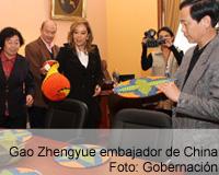 Embajador de China visitó a Boyacá