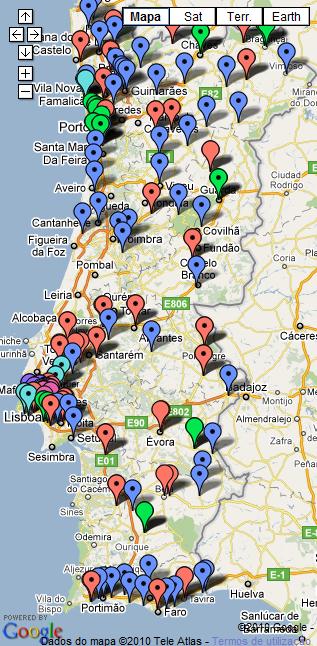 PIEFs em Portugal (2010-2011)