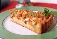 Torta Natalina de Legumes