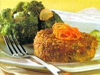 Hambúrguer de Batata com Cenoura e Vagem
