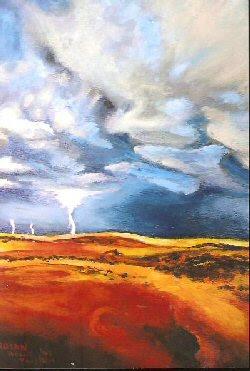 Lightning at Jockey's Ridge