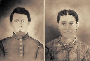 Isaac and Augusta Lyerly