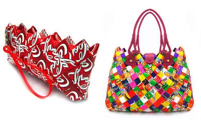 Trecool, ecoist handbags, bolsos ecológicos con materiales desechados