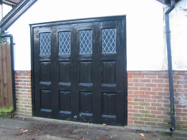 Mock Tudor garage doors & Ham Photos: Mock Tudor garage doors