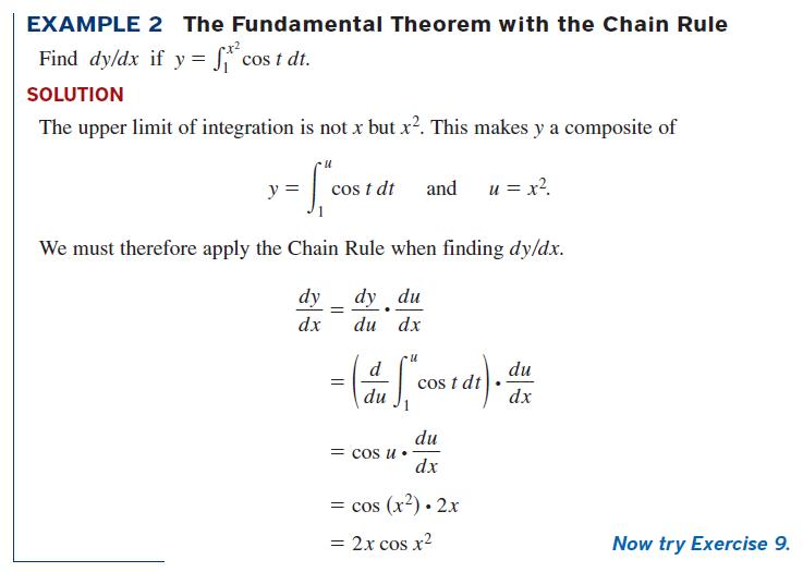 fundamental theorem of calculus problems: