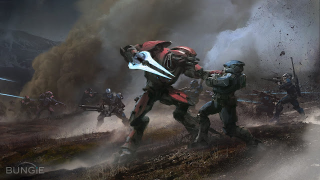 halo reach wallpaper hd. Halo Reach Spartans Wallpaper
