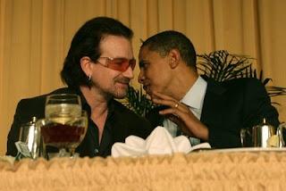 obama and bono u2 picture
