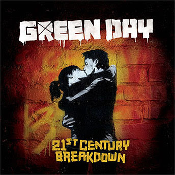 21st century break down album cover green day