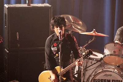 billie joe green day live picture