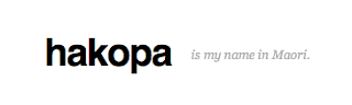 hakopa is my name in maori