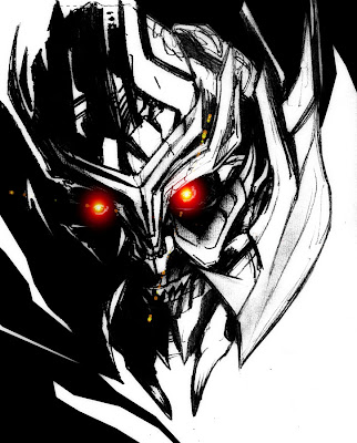 megatron fan art