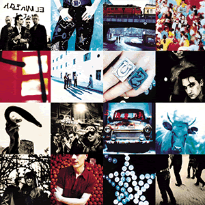 cover of achtung baby artwork