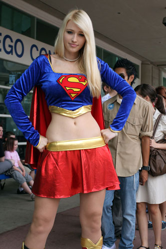 super girl cosplay