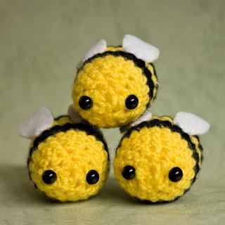 Kawaii Amigurumi Bee : Cute Designs UK - Amigurumi, Kawaii and Plush Love ...