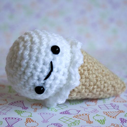 Mini Ice Cream Amigurumi : Cute Designs UK - Amigurumi, Kawaii and Plush Love ...