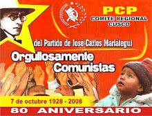 PARTIDO COMUNISTA PERUANO REGION CUSCO