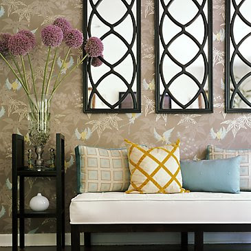 Growers And Nomads : Happy Homecoming Wallpapering Your Entryway