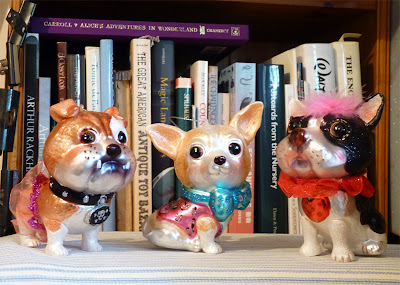Middle of Nowhere: Toy books and glass dogs