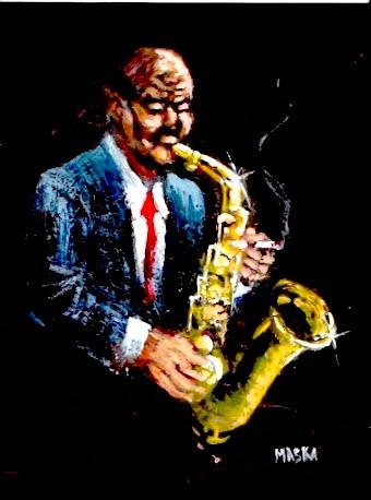 SOLO DE SAXO (jazz a lo maska)