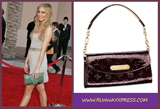 Ashlee Simpson Loves Louis Vuitton