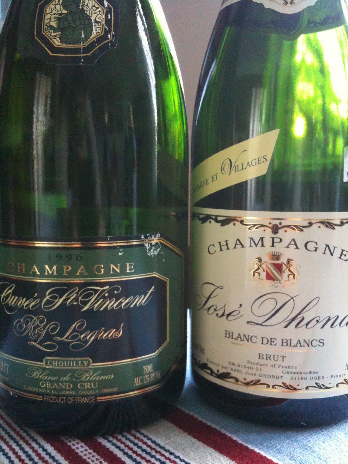 65134eddf49a 1996 R.   L. Legras Champagne Cuvée St. Vincent Blanc de Blancs Grand Cru  Lovely nose